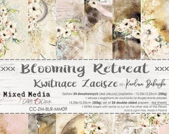Craft O'Clock Paper - Blooming Retreat Paper Collection