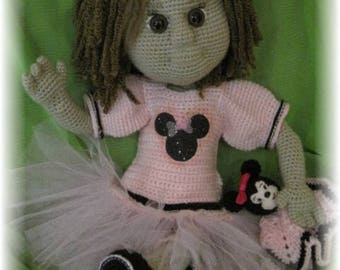 Minilya french complete tutorial to make a crochet doll