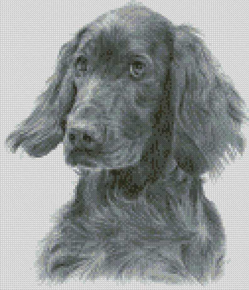 Cross Stitch Chart Or Complete Kit Irish Setter Dog