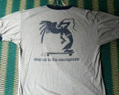 Newsboys Vintage shirt, Step up to the microphone promo ringer shirt,Unisex T-Shirt, Vtg. Loungewear