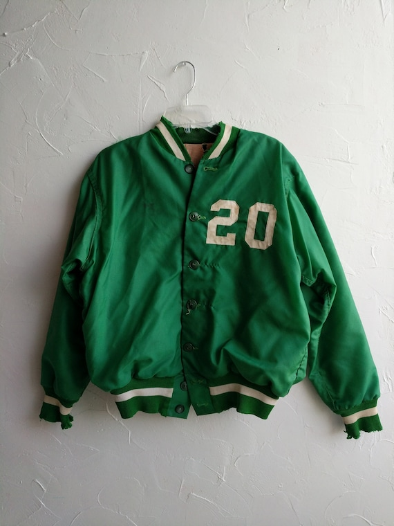 Weather Vintage Coat Green Worn Wear Cool Coat Insulated Soft Mexican Rare Distressed Street Bomber Burros Number Apparel Jacket 20 q4Ianf