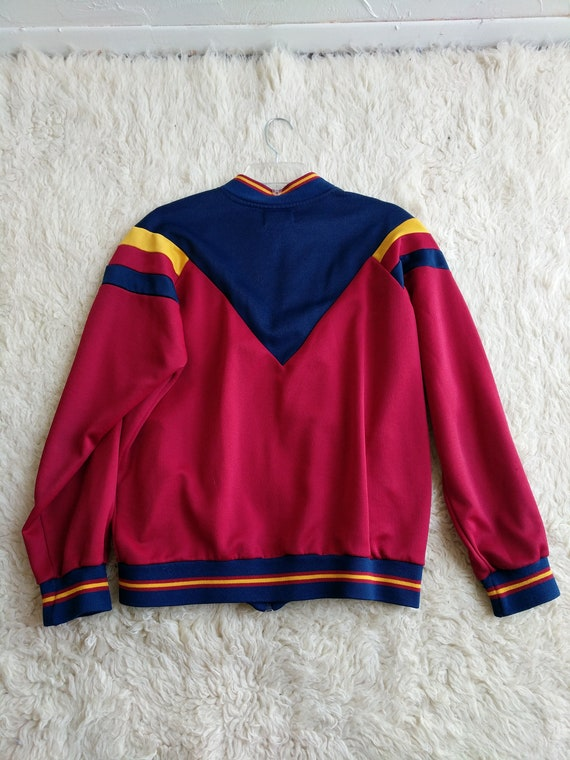 Jacket Vintage up Bomber Track Nike yellow red warm blue Style R7wr7EAqx
