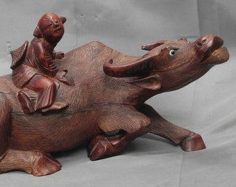 Asian Wood Carving Etsy