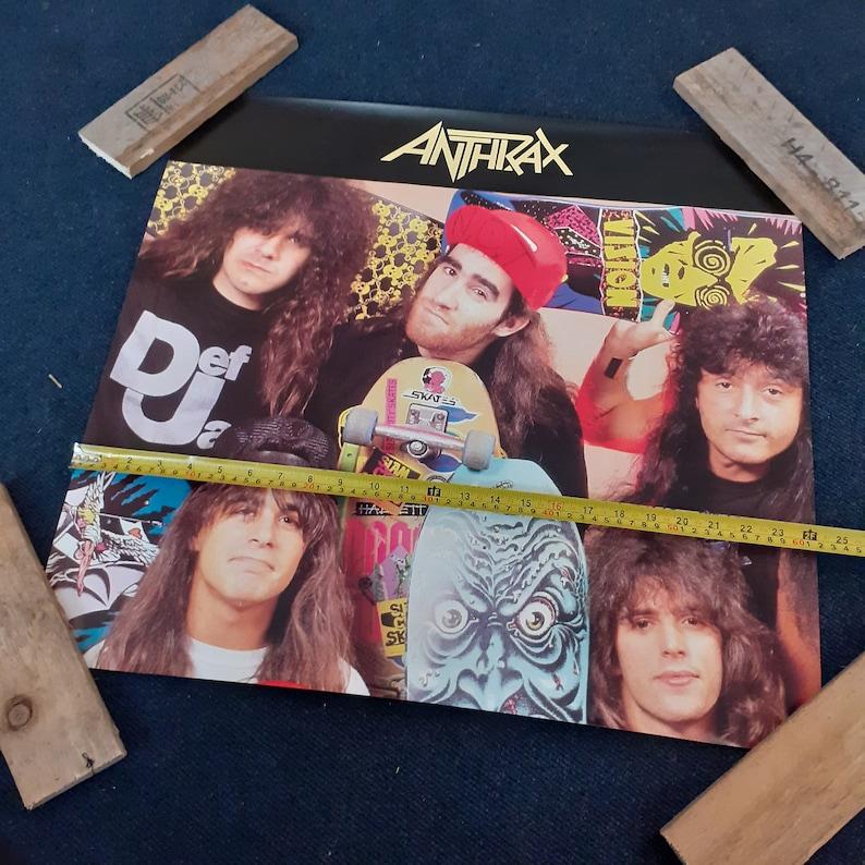 Vintage Anthrax Poster