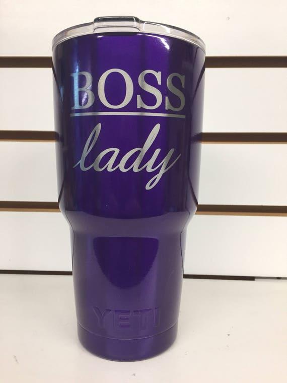 20 oz Candy Pearl Purple Custom powder coated Personalized