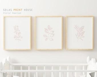 Baby girl prints | Etsy