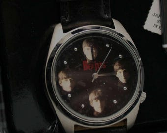 Beatles Watch Fossil Limited Edition Meet the Beatles Watch Set Retired Vintage