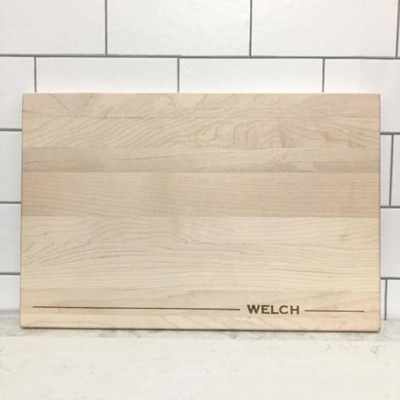 Engraved Cutting Board Kitchen Decor Wedding Gift Personalized Engraved Cutting Board Housewarming Gift Personalized Gift