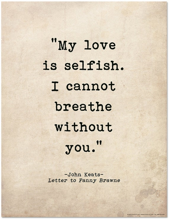 John Keats I Cannot Exist Without You Traduzione Braderva Doceinfo