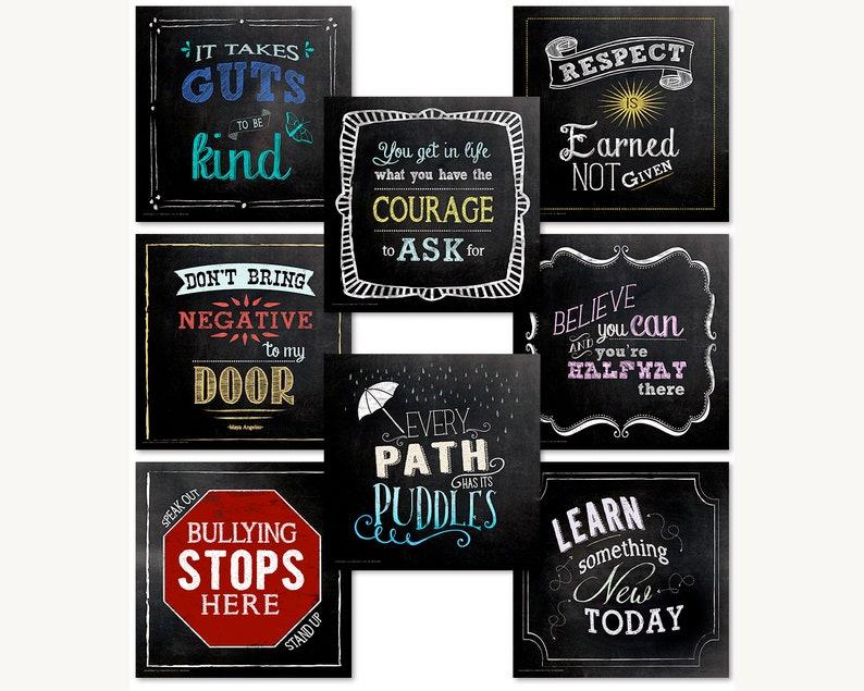 Character Education Classroom Bundle of Motivational image 0