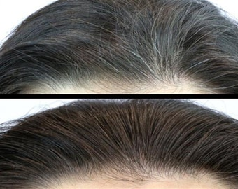 Al-Shaafi Hair Blackening Oil for Grey Hair to Turn Black or Darker Color with Herbs & Seeds oil (4 oz fl) 60Days Money Back Guarantee