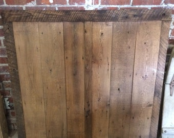 Reclaimed Barn Wood Wainscot Panel
