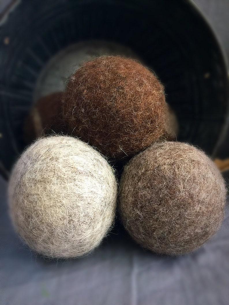 Ovella Wool Dryer Balls The Lixo Collection. Set of three 3 image 0