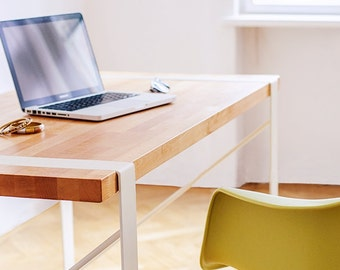 Desk, Modern Desk, Office Desk, Wooden Desk, Writing Desk, Dorm Furniture, Vanity Table, Laptop Desk, Wooden Furniture, Computer Desk