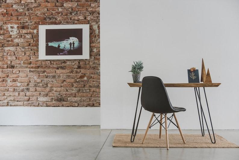 Wooden Table, Wood Desk, Reclaimed Wood Furniture, Live Edge Desk, Cabin  Decor, Rustic Decor Furniture, New House Gift, Dorm Furniture
