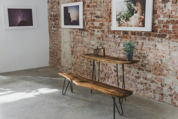 Super Wooden Furniture Live Edge Bench Dining Bench Industrial Furniture Lodge Decor Rustic Furniture Dad Gift Rustic Decor Garden Bench Ibusinesslaw Wood Chair Design Ideas Ibusinesslaworg