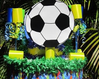 Soccer Ball fait main anniversaire enfant Pinata