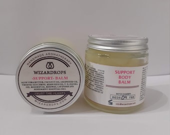 Psoriasis, eczema & dermatitis appearance help. REMEDIAL BODY BALM: - Deep Skin Support- Organic, handmade to soothe the skin.