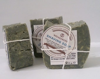 SHAVING SOAP Organic Handmade