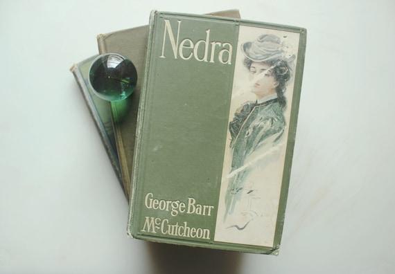 Trio Of Antique Green Gems Mccutcheons Nedra 1905 Etsy