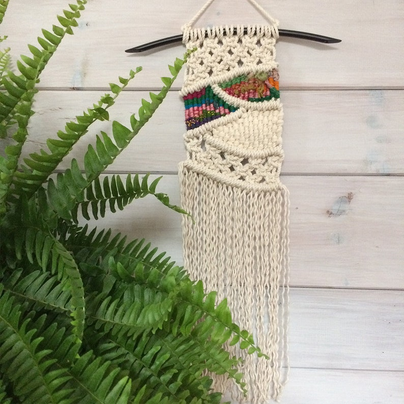Sale Spring Macramé Wall Hanging Woven Wall Hanging Etsy