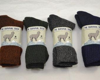 Alpaca Socks Survival - Medium