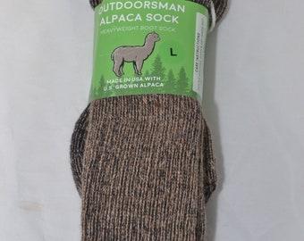 Alpaca Socks - Heavy Outdoorsman - All Sizes