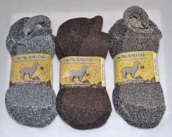 Alpaca Socks Low Profile Ankle - Medium