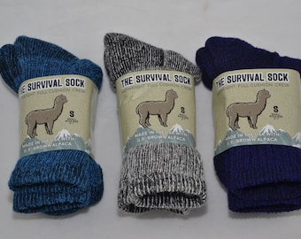 Alpaca Socks Survival - Small