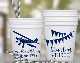 Airplane Party Favor Cups
