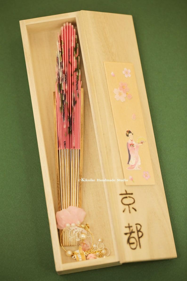 Handmade Japanese Fan,Kimono Sensu,hand fan,folding fan,wedding fan,birthday gift,Party GiftsWedding Favours,Wedding Gift,yukata hand fan