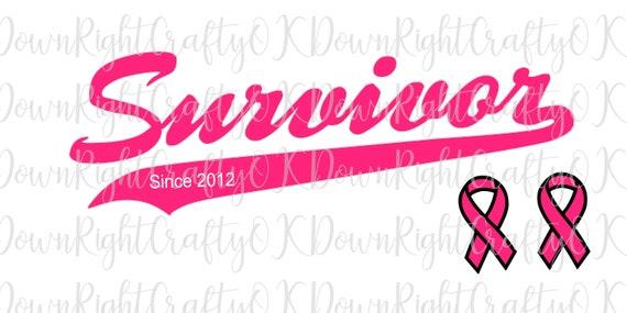 Cancer Awareness Svg I M A Survivor Breast Cancer Brave Etsy