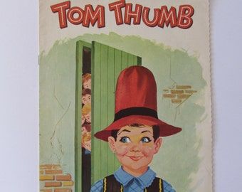 Vintage (1960s) children's book, 'Tom Thumb'  printed in Holland