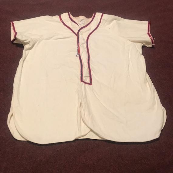 1950s Vintage baseball jersey