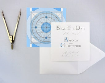 Concentric Save the Date Suite