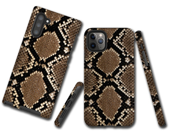 Snakeskin Design iphone 11 Pro Max Case, iPhone 7, Samsung Galaxy Note 10, Galaxy S10 Plus, iPhone XR, iPhone XS max, iPhone 8, iPhone 6