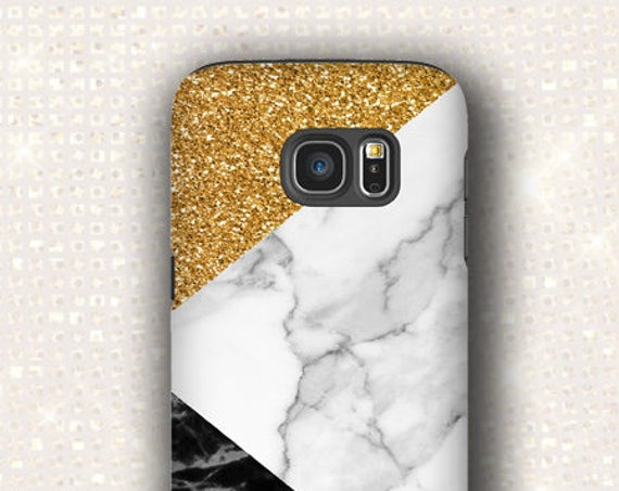 Golden Glitter Marble Mix Print iPhone 11 Pro Max iPhone 8 iPhone 7 Plus 6S Plus 6S, 6 Plus Samsung S8 Galaxy Note 8, Note 10 Plus Galaxy s9