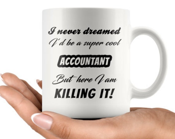 Accountant 11 oz Coffee Mug