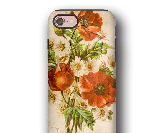 iPhone 11 Pro Max Floral Bunch iphone 8 Shabby Chic Galaxy Note 8 Galaxy S8 iPhone 7 iPhone X iPhone 6 Galaxy S10 5G distressed LG G6 roses