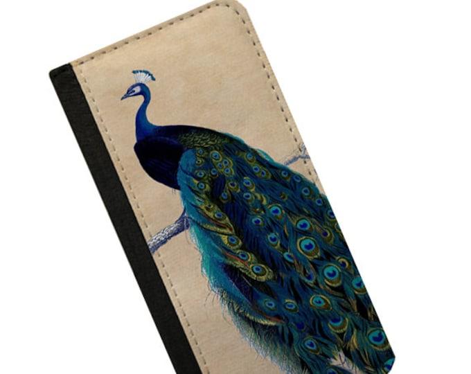Vintage design Peacock iPhone 6s wallet case Samsung Galaxy Note 4 iPhone 6 Plus Samsung Galaxy S6 iPhone 6 iPhone 5c flip case Galaxy S5