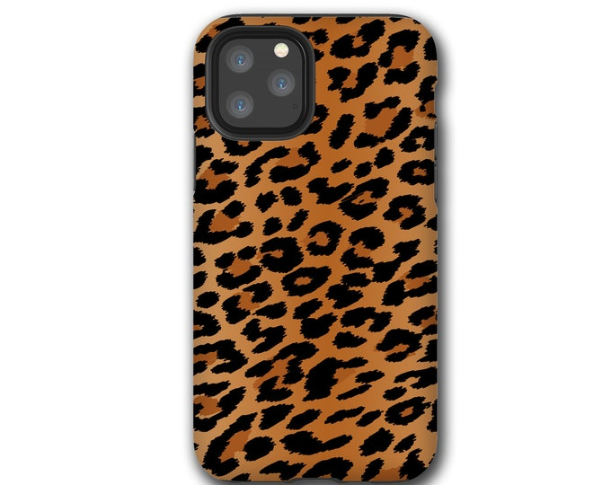 Leopard Print iPhone 11 Pro Max case, Animal Print Samsung Galaxy Note 10 Plus, iPhone XR, iPhone XS, iPhone 7, Samsung Galaxy S20, iPhone 8