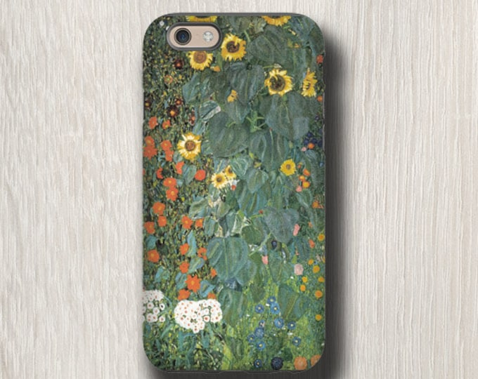 Gustav Klimt Sunflowers iPhone 12 Pro Max iPhone XR Samsung galaxy s21 iPhone 11 iPhone 12 mini iPhone 8 Plus Galaxy S9 Galaxy Note 20 Ultra
