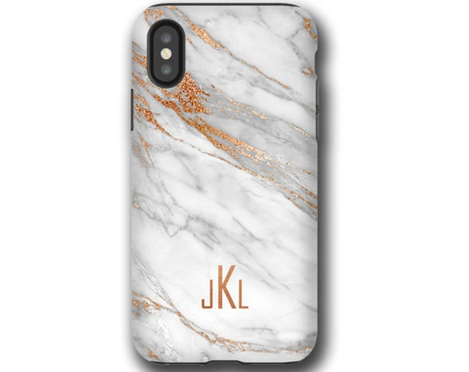 Marbled iPhone 12 pro max case, Samsung S21  iPhone 12 mini custom monogram Galaxy Note 20, iPhone 8, iPhone XR, iPhone 11, Galaxy S10 Plus