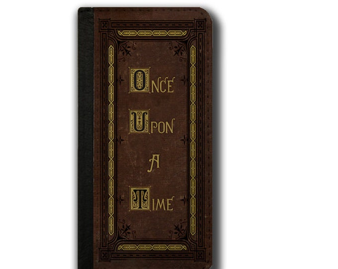 Storybook Fairytales Funny iPhone 6s case iPhone 6 Plus Samsung Galaxy Note 3 Galaxy Note 4 wallet case  Once upon a time gift Galaxy S5