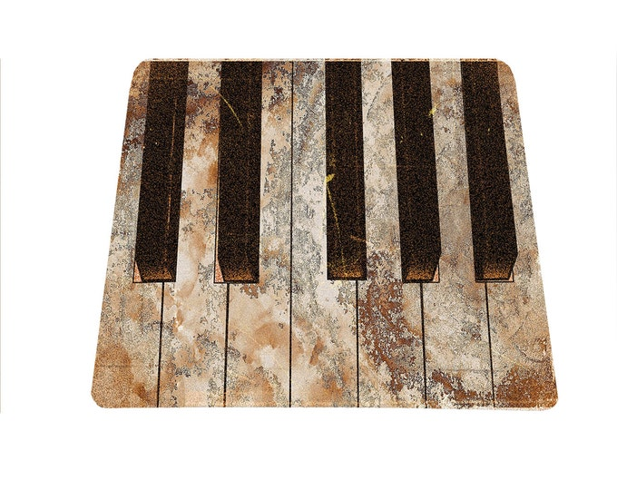 Piano Keyboard Mouse Pad for musicians mousepad mouse mat rectangle retro vintage