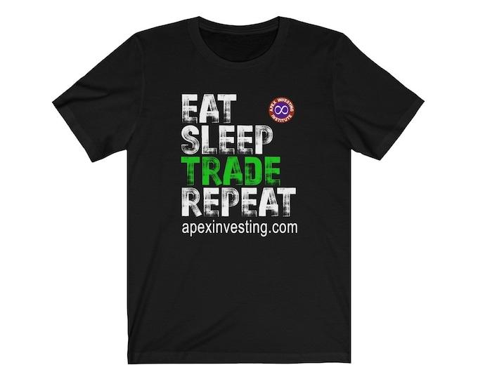 Eat Sleep Trade Repeat - Gary Edition - Front Print