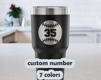 ca74d051e25 Custom Baseball Mug / Baseball Mom Mug / Baseball Dad Mug / | Etsy
