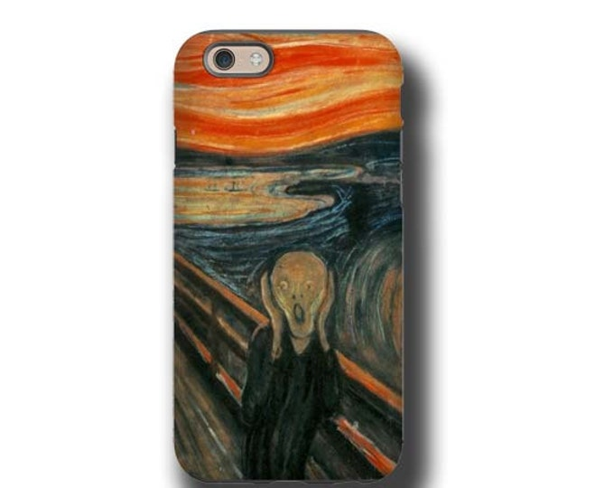 iPhone 11 The Scream Edvard Munch iphone 7 case iPhone 8 Plus Galaxy S10 5G Samsung Galaxy Note 8 iPhone 6s Samsung Note 20 iPhone 6s Plus