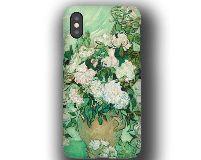 Samsung Galaxy S21 van Gogh Roses iPhone 12 mini Case iPhone 12 Pro Max iPhone 7 iPhone 11 Pro iPhone 8 Galaxy S20 Case Galaxy Note 20 Ultra