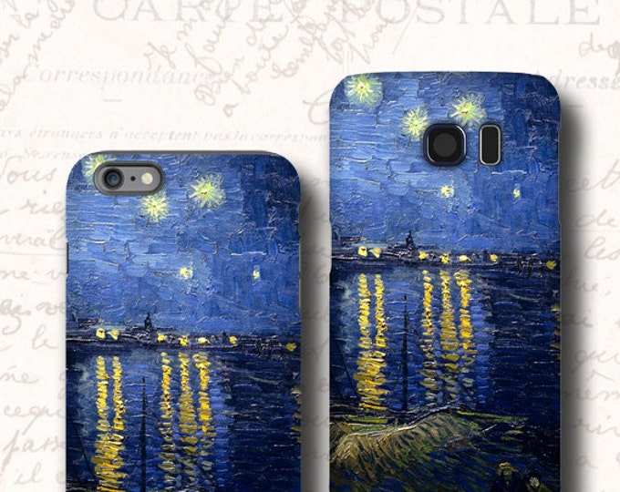 Starry Night iPhone 13 case, Galaxy Note 10 Plus iPhone 12 van Gogh Galaxy S8 Galaxy S21 iPhone 11 iPhone XS Samsung Note 20 Galaxy s8